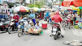 Mất an toàn từ chợ tự phát