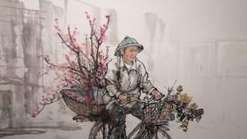 72 tác phẩm dự triển lãm tranh thủy mặc
