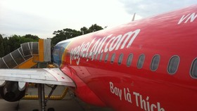 Vietjet is offering one million tickets costing at just VND0. (Photo: KK)