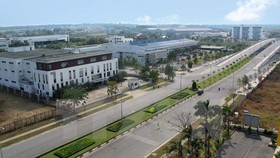 A view of the Saigon Hi-Tech Park (Photo: VNA)