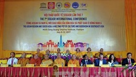 "The conference on ""The ASEAN Region and South Asia: A Melting Pot of Culture and Buddhism in Southeast Asia"" is underway in HCM City until July 11. (Photo: VNA)"