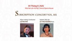 Hanoi Opera House presents concert on August 4
