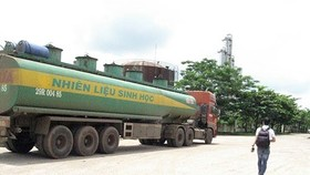 A view of ethanol production plant of Tung Lam JSC in Dong Nai. (Source: laodongdongnai.vn)
