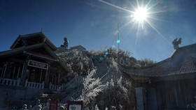 Spiritual and cultural complex on Fansipan Peak
