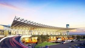 A design mock up of Van Don International Airport