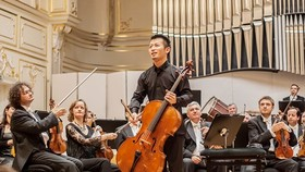 Japanese talented cello soloist Miyata Dai