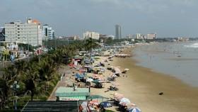 A view of Vung Tau beach (Photo: VNA)