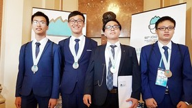 Vietnamese students win four medals at Int'l Chemistry Olympiad 2018
