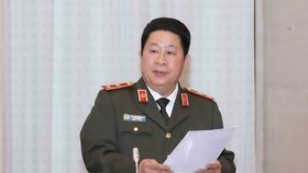 Lt. Gen. Bui Van Thanh, Deputy Minister of Public Security. (Photo: VNA)