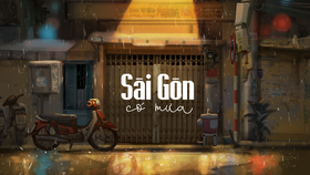 "Falling in love with ""Saigon in the rain"""