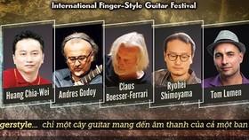 Vietnam Int'l Fingerstyle Guitar Festival 2018 to return to Hanoi
