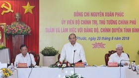 Prime Minister Nguyen Xuan Phuc (C) (Source: VNA)