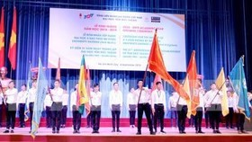 The opening of the new academic year 2018-2019 of Ton Duc Thang University (Photo: VNA)