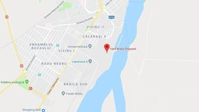 Location of Vard Braila Shipyard in the eastern city of Braila in Romania. (Photo: Google Maps)