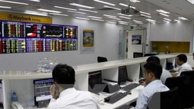 The benchmark VN-Index on the Ho Chi Minh Stock Exchange (HoSE) lost 2.7 points to close at 955.89 points on December 10 (Photo: VNA)