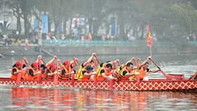 Hanoi releases 2019 Dragon Boat Race schedule