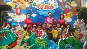 A children's program in HCMC Book Street