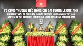 A State funeral for former State President Le Duc Anh is held on May 3 at the National Funeral Hall, No.5 Tran Thanh Tong, Hanoi.