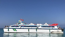 The high-speed ship, Chin Nghia EXPRESS 09