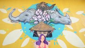 Wildlife Street Art Bus Tour program ends in HCMC