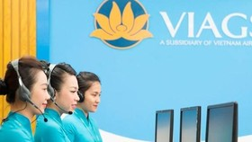 The telephone check-in service of the national flag carrier Vietnam Airlines will be applicable for passengers of domestic flights from Hanoi, starting on September 15 (Photo: VNA)