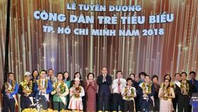 TPHCM tuyên dương 9 công dân trẻ tiêu biểu năm 2018