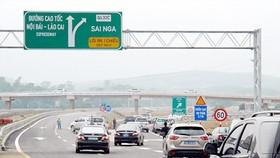 Xử phạt qua camera trên cao tốc Nội Bài - Lào Cai