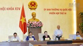 Lãnh đạo Quốc hội chủ trì phiên họp của UBTVQH