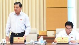 Chủ nhiệm Ủy ban Đối ngoại Nguyễn Văn Giàu