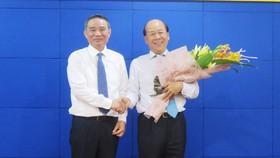 Bộ trưởng GTVT Trương Quang Nghĩa giao nhiệm vụ phụ trách HĐTV Tổng công ty Công nghiệp tàu thủy cho Thứ trưởng Nguyễn Văn Công