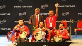 Lê Văn Công và đồng đội giành 8 HCV tại Para Games 2017