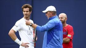 Andy Murray (trái) đã lại chia tay HLV Ivan Lendl