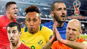 """Đội tuyển các ngôi sao """"lỡ tàu"""" World Cup 2018"""