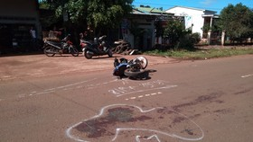 Tông vào xe công nông, 1 người tử vong 2 người bị thương