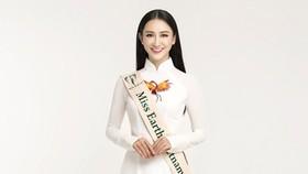Hà Thu đại diện Việt Nam tham dự Hoa hậu Trái đất 2017