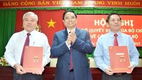 Công bố quyết định của Bộ Chính trị về công tác cán bộ tại tỉnh Sóc Trăng