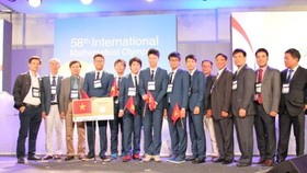 VN wins medals at International Mathematical Olympiad 2017
