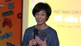 Bà Elizabete Fong Tổng giám đốc Vietnamobile