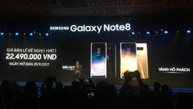 Ngày bán và giá bán chính thức của Note tại VN