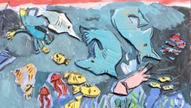 Lần đầu tiên học sinh Hà Nội có triển lãm hội họa