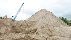 Việt Nam không xuất khẩu mọi loại cát ra nước ngoài  