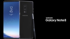 Galaxy Note8 đã chính thức được ra mắt