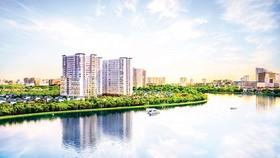 """Văn phòng """"resort"""" hiếm có, khó kiếm tại Nam Sài Gòn"""