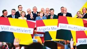 """Châu Âu """"mất ngủ"""" vì khủng hoảng chính trị Đức"""