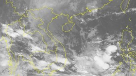 Vùng áp thấp di chuyển theo hướng Tây Nam, tiếp tục suy yếu và tan dần