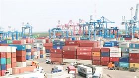 Hàng hóa XNK qua cảng Cát Lái