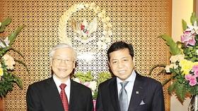 Tổng Bí thư Nguyễn Phú Trọng hội kiến với Chủ tịch Hội đồng Đại biểu Nhân dân Indonesia Setya Novant