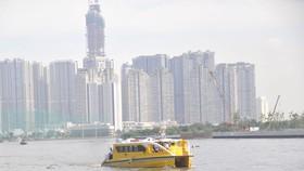 Buýt sông tuyến bến Bạch Đằng - bến Linh Đông               Ảnh: CAO THĂNG