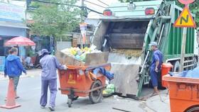 Xây dựng đơn giá thu gom, vận chuyển chất thải rắn tại huyện Cần Giờ