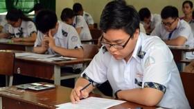Thí dự thi kỳ thi THPT quốc gia 2017
